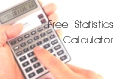 Click to launch the Online Spearman Rank Correlation Software (Calculator)